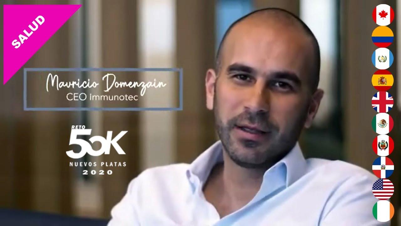 Descubre IMMUNOTEC, CEO Mauricio Domenzain, 6 Mayo 2020