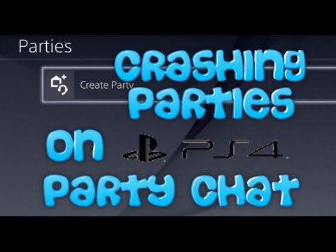 Crashing Parties on PS4 Party Chat - Funny Moments Online