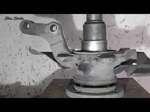 Замена ступичного подшипника на калине своими руками видео