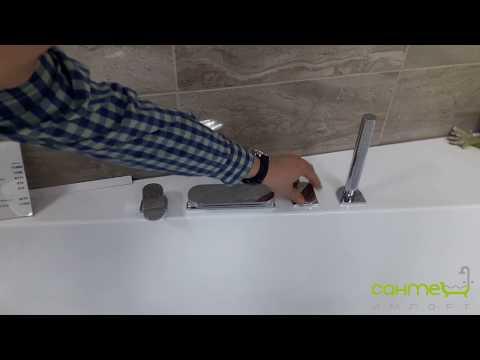 Врезной смеситель для ванны Ravak Chrome CR 025.00 (santehimport.ua)