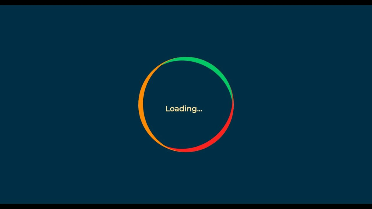 How to Create Awesome Loading Animation with HTML & CSS (No JavaScript)