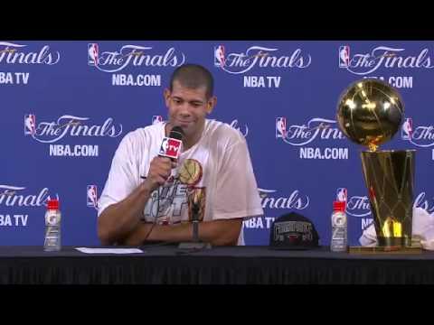 Postgame: Shane Battier | Spurs vs Heat | June 20, 2013 | Game 7 | NBA Finals 2013