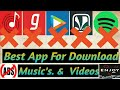 Best Free Music Download App | Best Android Music Player: Download Free, Unlimited Songs Legally