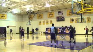 Kobe Bryant makes 10 three-pointers in a row