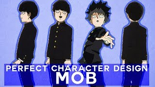The Perfect Character Design of Mob from Mob Psycho 100