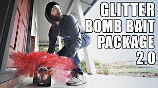 Porch Pirate vs. Glitter Bomb Trap 2.0