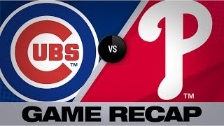 Realmuto, Harper back Nola in 11-1 win | Cubs-Phillies Game Highlights 8/14/19