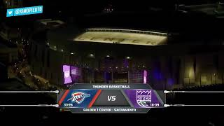 Basketball nba Oklahoma City thunder vs Sacramento Kings highlights 22 Feb 2018