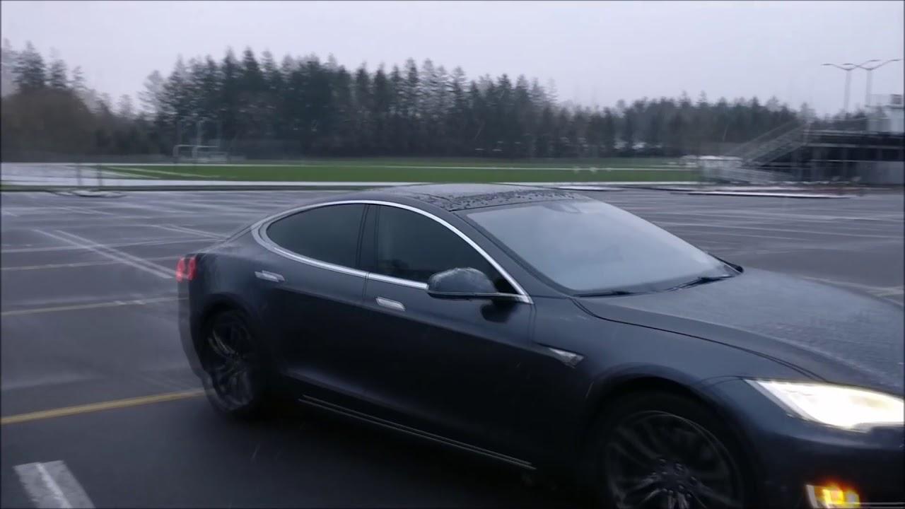 автомобиль тесла расход