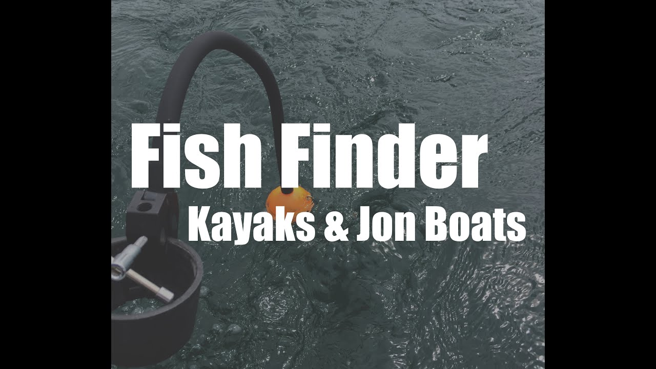 portable fish finder for kayaks and jon boats (deeper flexible arm, Fish Finder