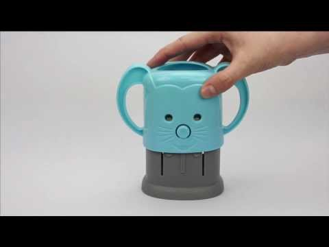 How to Use MyDrinky™ - Two piece adjustable juice box holder by InchBug®
