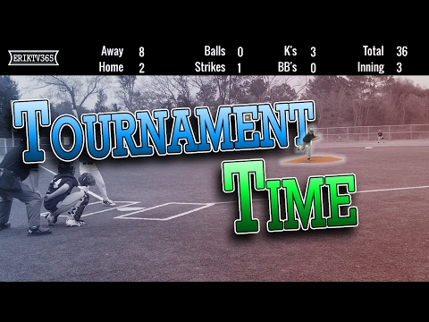 1ST TRAVEL BALL TOURNAMENT  ERIKTV365