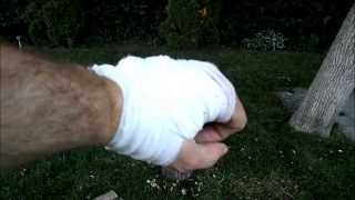 I Chopped My Hand - FAB Epic Fail - Kershaw Camp 10 Knife Accident