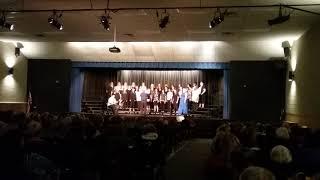 Local high school womens choir concert.
