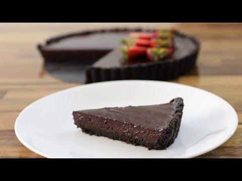 Easy No-Bake Chocolate Tart Recipe