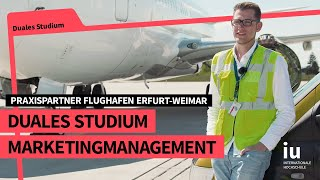 Duales Studium Marketingmanagement an der IU | Praxispartner Flughafen Erfurt-Weimar