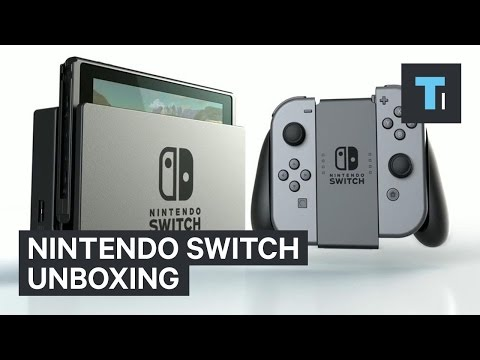 Unboxing the Nintendo Switch