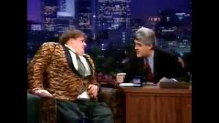 Chris Farley on Leno Jan 1997