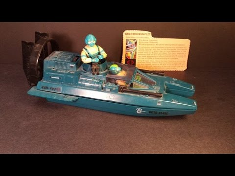 HCC788 - 1984 Cobra WATER MOCCASIN and COPPERHEAD - vintage G. I. Joe toy review!