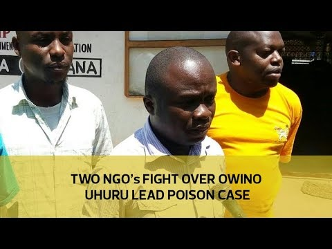 Two NGO's fight over Owino Uhuru lead poison case