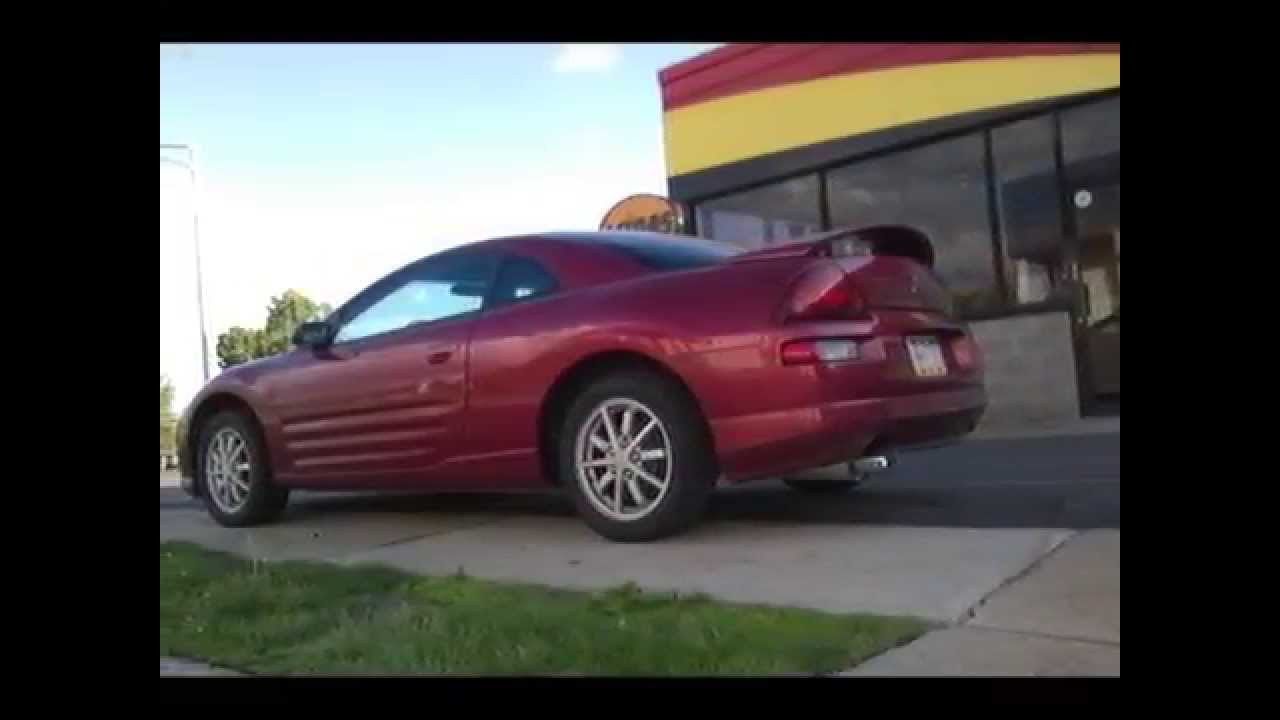 2001 Eclipse GS Ebay N1 Cat back exhaust sound - YouTube