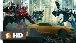 Transformers: Dark of the Moon (8/10) Movie CLIP - The Battle for Chicago (2011) HD