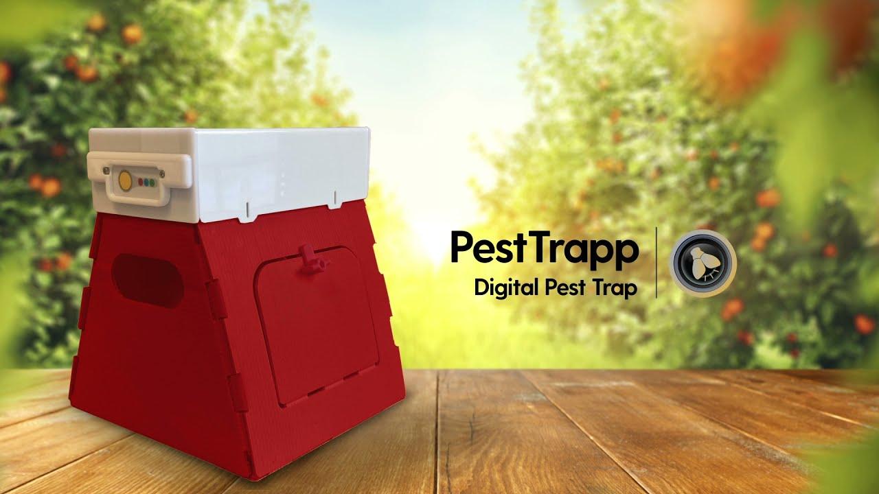 PestTrapp   Digital Pest Tracking Station   Monitor Pests Remotely