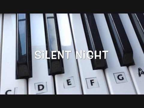 How to Play Silent Night On The Keyboard