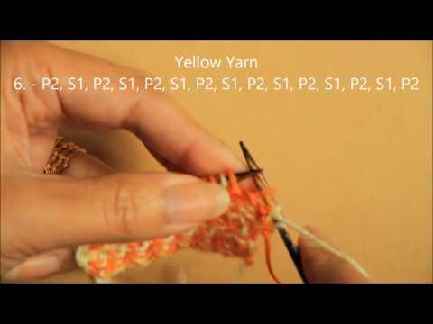 Basketweave - Knit Stitch