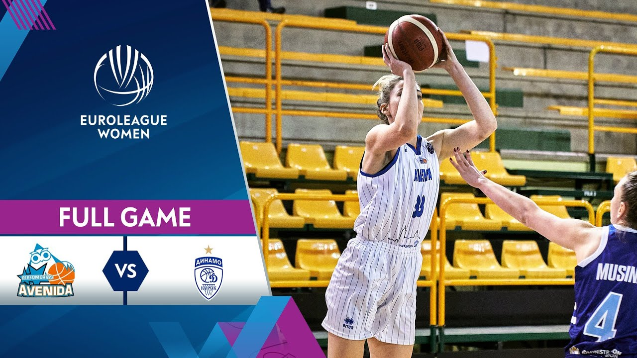 Perfumerias Avenida v Dynamo Kursk | Full Game - EuroLeague Women 2020