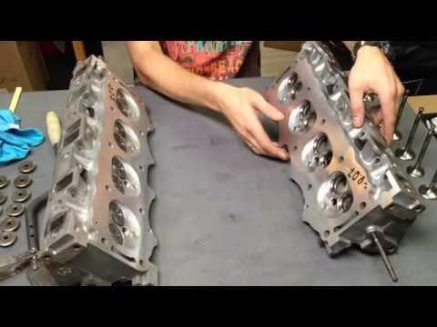 Range Rover P38 4.6 V8 60D ремонт головок блока цилиндра