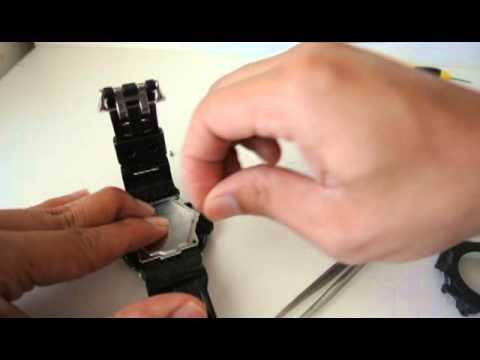 476b9f2dd37 Casio GShock G9200 - GW9200 Riseman Battery Change Solar CTL1616 ...