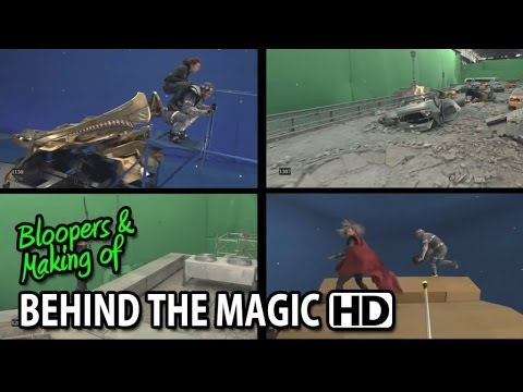 "The Avengers (2012) Making of & Behind the Magic ILM ""Anatomy of a Shot"""