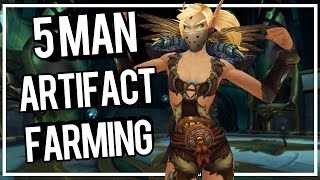 OUTLAW HIDDEN SKIN 5 MAN FARMING - WoW Legion 7.0.3