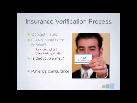 Verifying Patient Insurance
