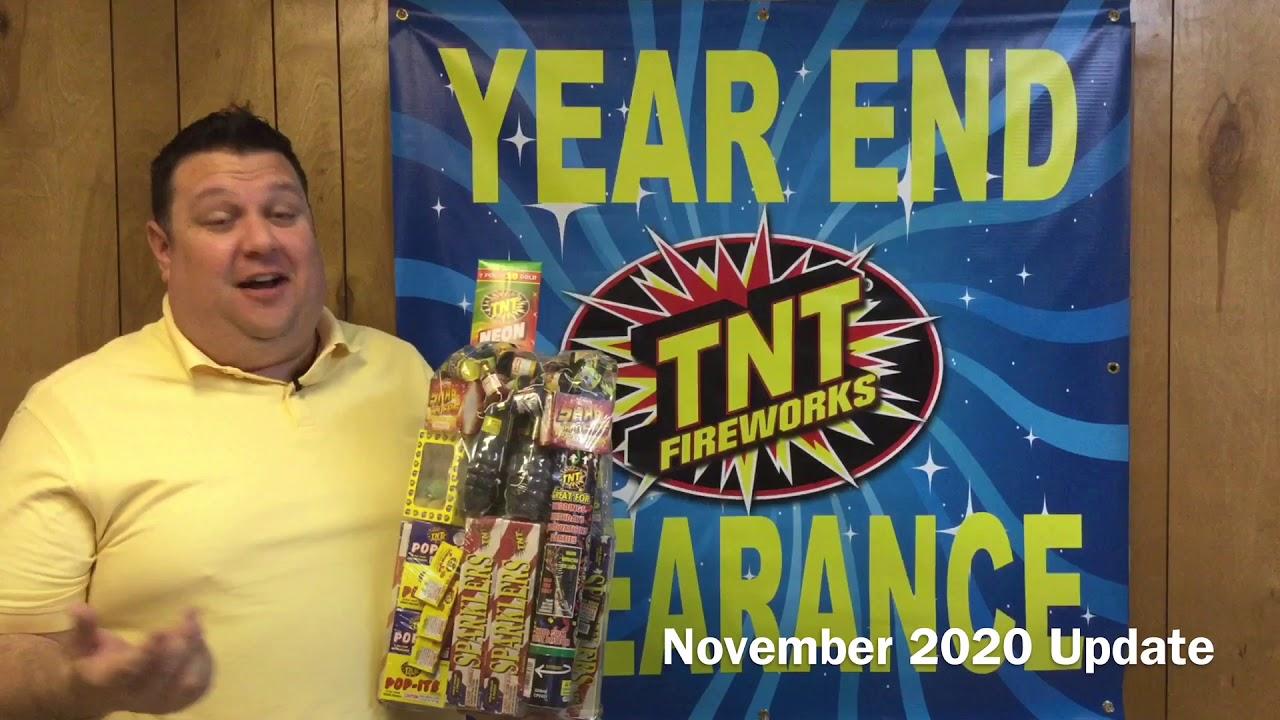TNT Fireworks - November 2020 Update Video