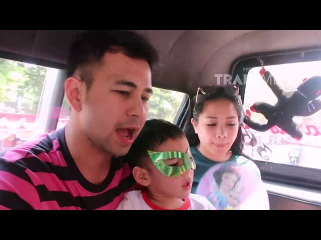 JANJI SUCI - Rafathar Dan Keluarga Jalan Jalan Naik Angkot (12/8/18) Part 1
