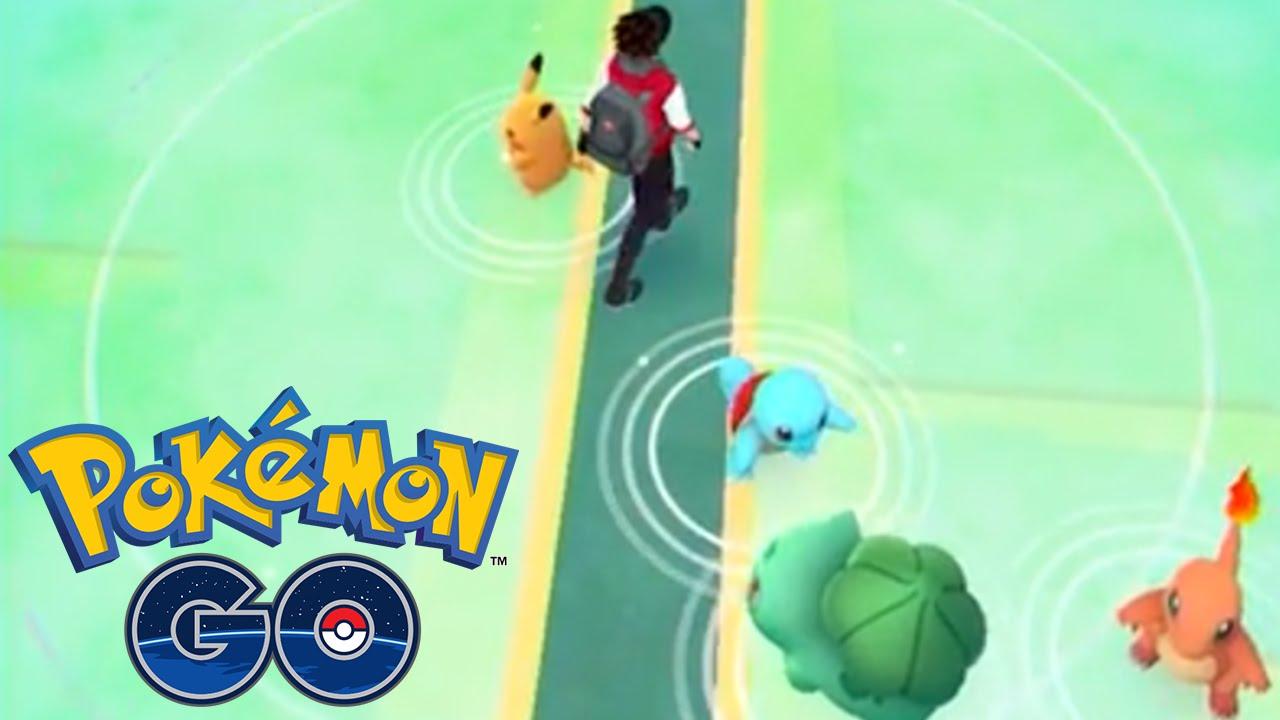 Resultado de imagen para pokemon go mapa pokemon iniciales