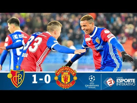 Melhores Momentos - Basel 1 X 0 Manchester United - Champions League (22/11/2017)