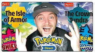 POKEMON DIRECT 2020 PL REAKCJE! - EXPANSION PASS, NOWE POKEMONY, ISLE OF ARMOR, CROWN TUNDRA!