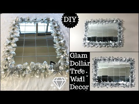 💎🎀DIY HOME DECOR IDEA 2019 | DOLLAR TREE DIY GLAM DECOR ON A BUDGET | DIY MIRROR HOME DECOR🎀💎