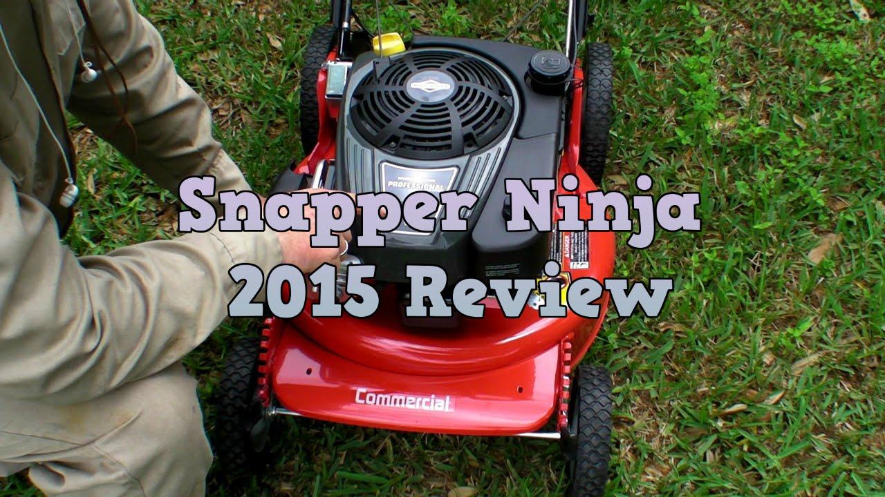 Snapper Ninja Professional Mower 2015 Review Youtube