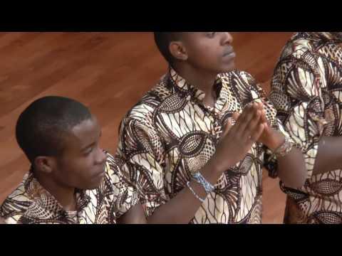 We Day Free the Children Benefit Concert Calgary - Kenyan Boys Choir