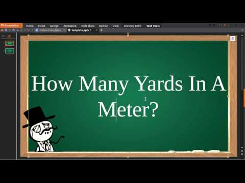 How Many Yards In Meter