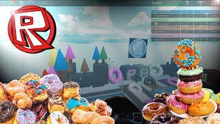 """""""YOU LAUNCHED ME!!!"""" (Roblox) Donut Factory Tycoon!"""