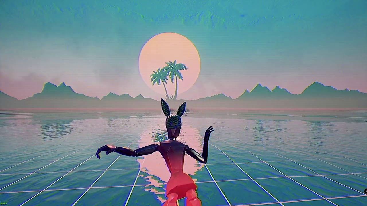 Free pink vaporwave skybox introduced in OWW to celebrate first ever DLC