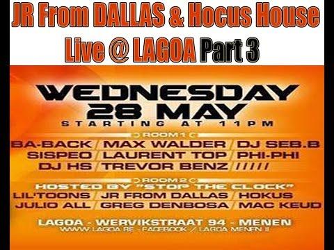 JR From Dallas / Hokus House live @ Lagoa Part 3