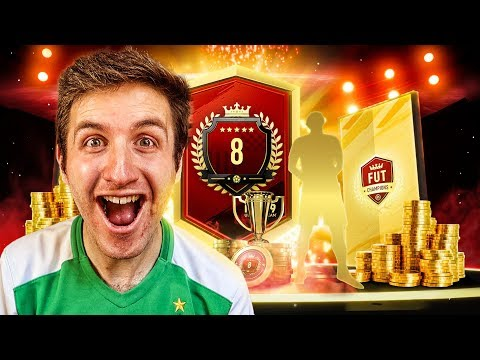 NUMBER 8 IN THE WORLD FUT CHAMPIONS REWARDS! FIFA 19 Ultimate Team