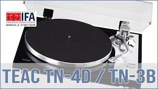 TEAC TN-4D & Teac TN-3B Plattenspieler