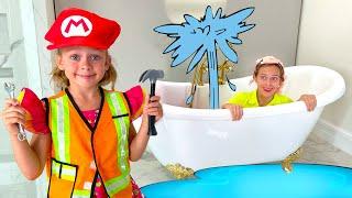Plumber Song | Maya and Mary Nursery Rhymes & Kids Songs